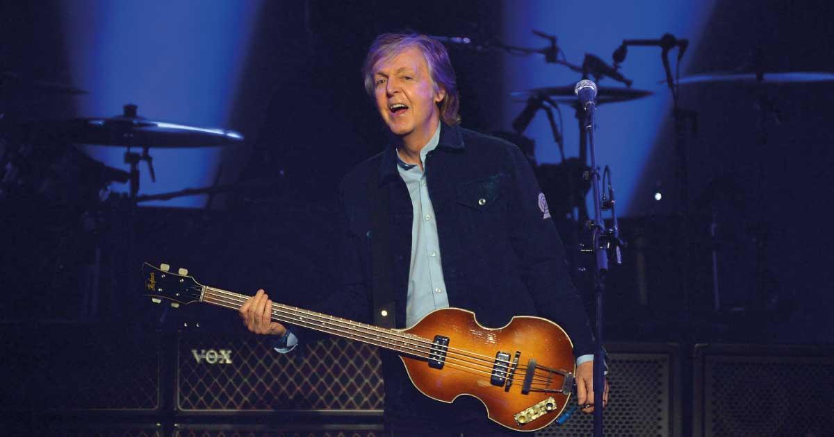 Paul McCartney lança álbum com participações de peso