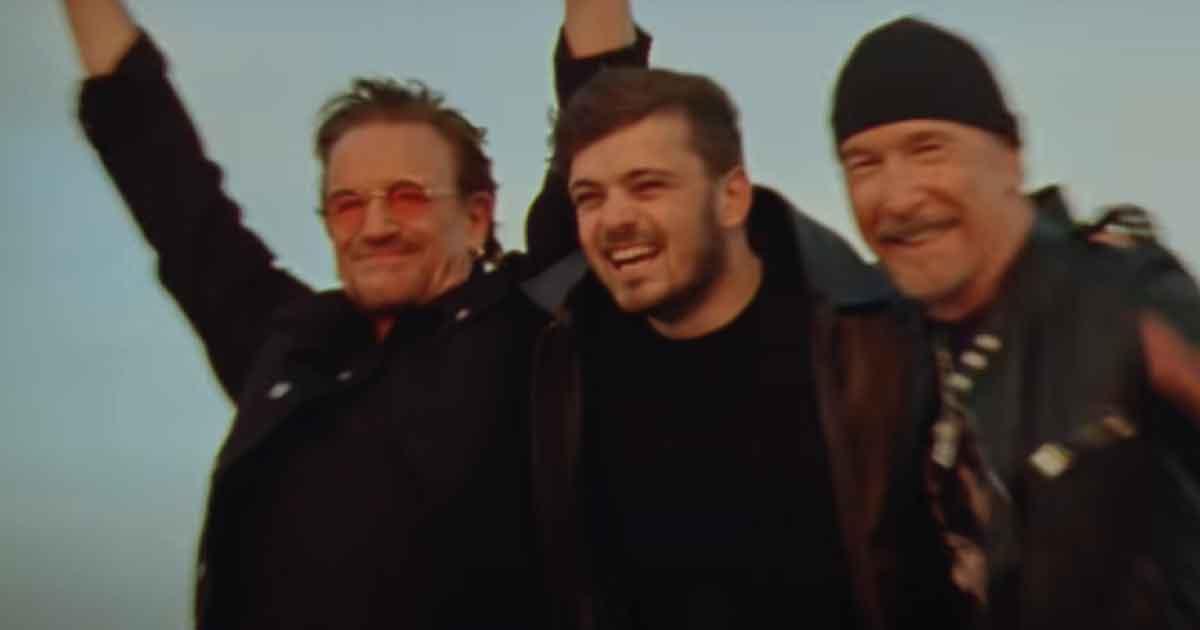 Bono e The Edge se juntam a Martin Garrix no tema da Eurocopa; ouça
