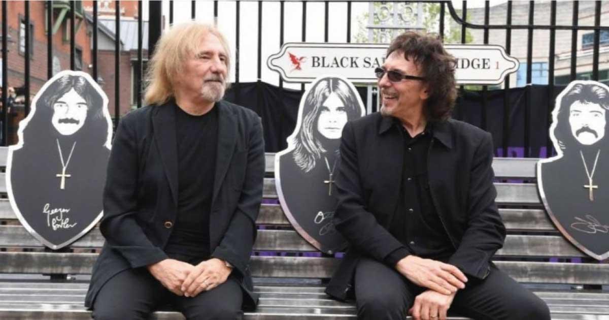 """Tony Iommi e Geezer Butler comentam sobre o famoso """"intervalo do diabo"""""""
