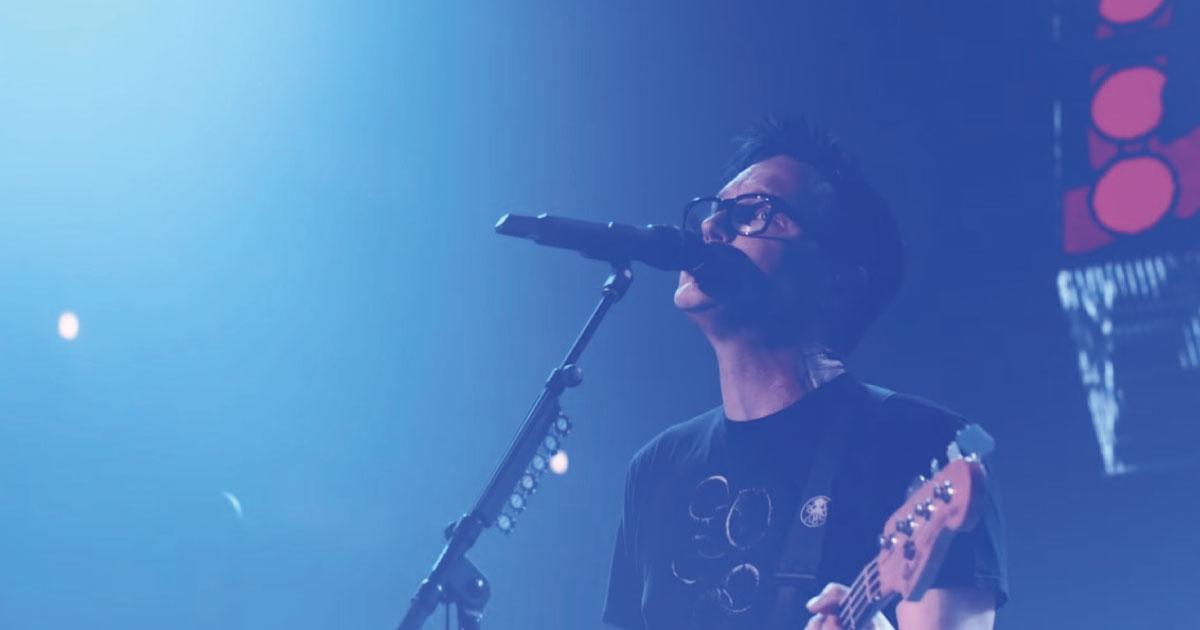 Mark Hoppus, do Blink-182, revela que está em tratamento para câncer