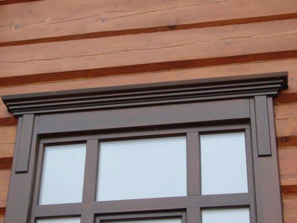 Установка наличников на окна в деревянном доме своими