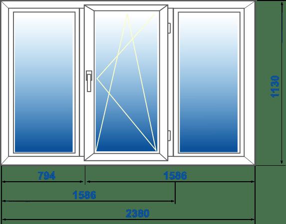 mérőszalag szabványos ablakok)