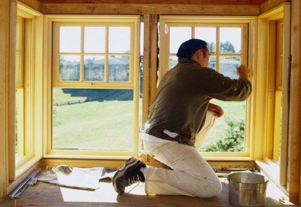 Как покрасить пластиковые окна: покраска окон пвх, своими ...