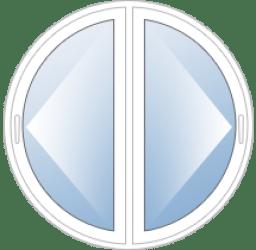 Круглые окна Rehau