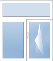 Окна с фрамугой