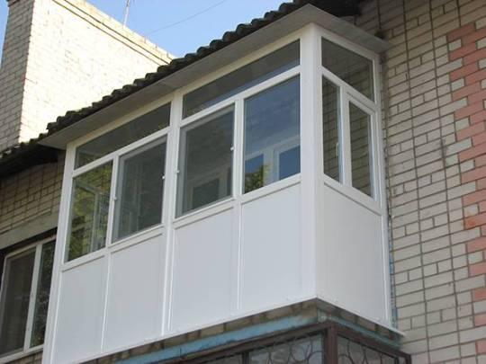 Балкон под ключ в Новомосковске
