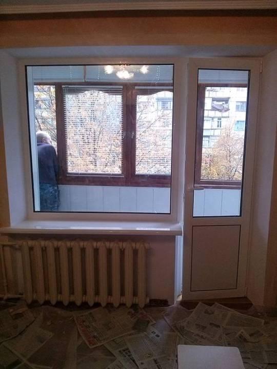 окна Новомосковск