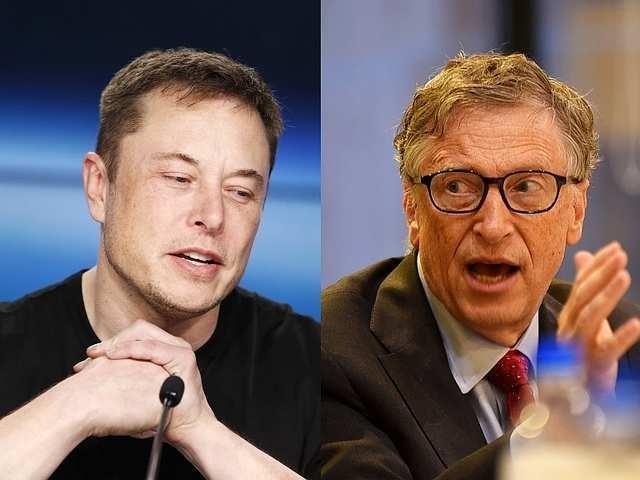 Elon Musk ទម្លាក់ Bill Gates ឈរលេខ ២ ជាអ្នកមានបំផុតលើពិភពលោក