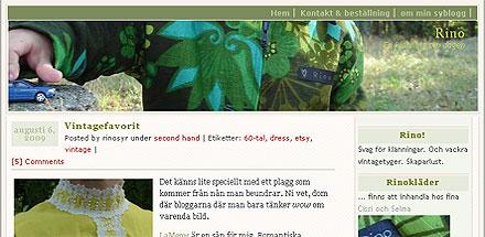 rinosyr - en blogg om klädsömmnad mm