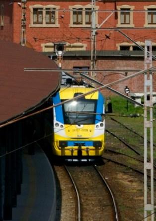 Opolski Ekspres Dęty na stacji Opole Główne