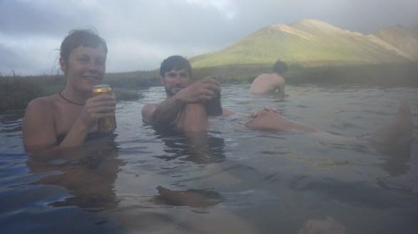 Termalni izvor u Landmannalaugaru