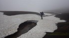 Sniježni mostovi pomažu prilikom prelaska potoka