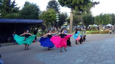 Plesnjak na glavnom trgu u Coyhaiqueu