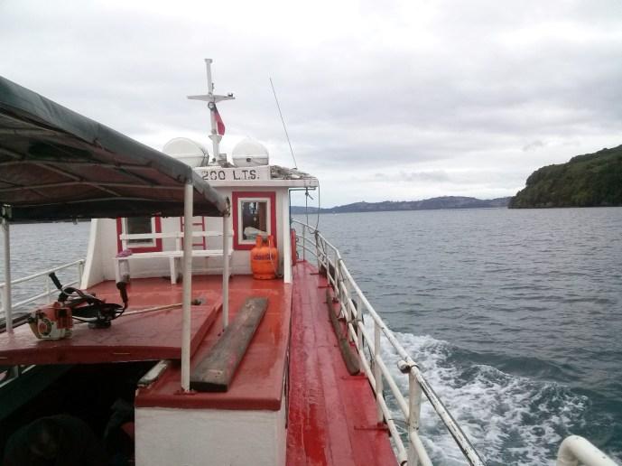 Vožnja brodom do otoka Chelin