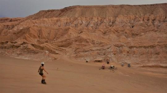 Sandboarding, Valle de la Muerte