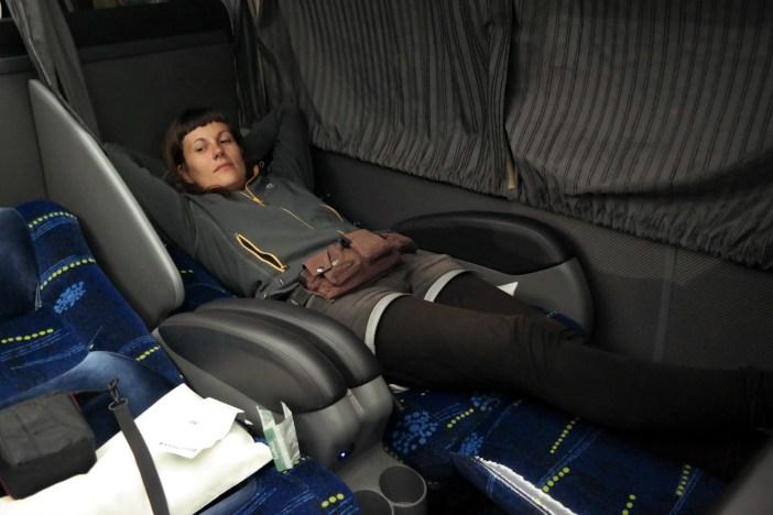 Udobna vožnja u busu