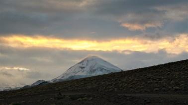 Izlazak sunca iznad Cerro Ojos del Toro