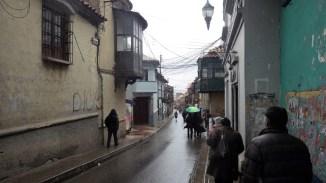 Ulica Potosíja s kolonijalnim građevinama