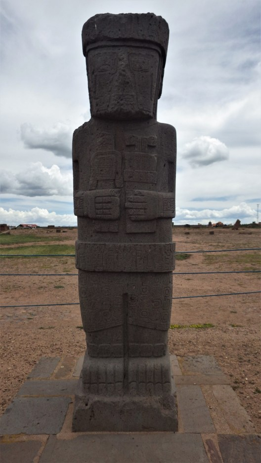 Monolitni Tiwanaku lik
