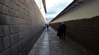 Ostaci Inka zida u temeljima nadbiskupske palače u Cuscu