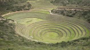 Velika terasa s koncentričnim krugovima
