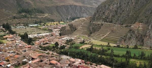Ollantaytambo i terase Inka