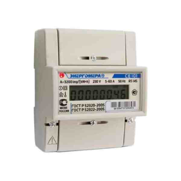 Счетчик энергомера се 101 технические характеристики