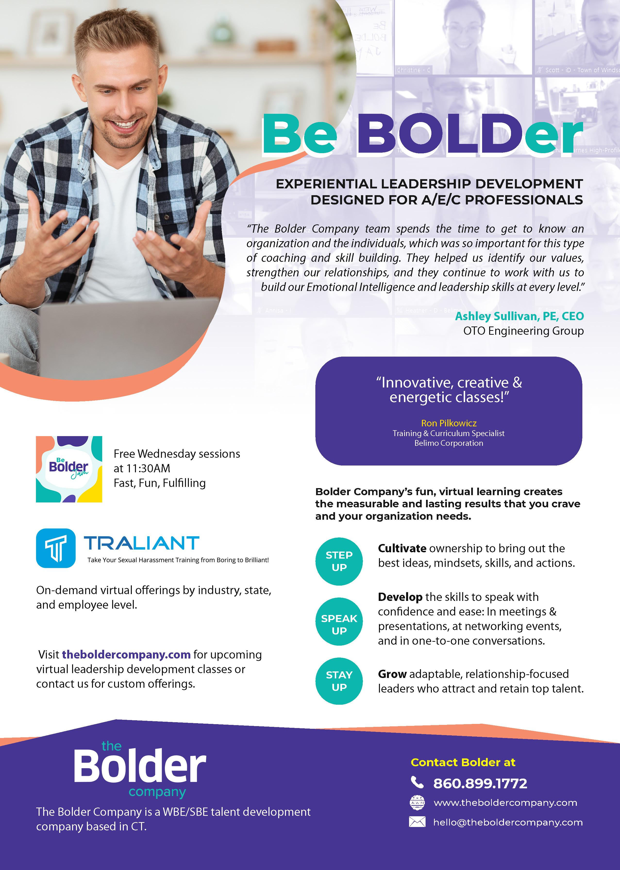 The Bolder Company - Magazine Ad - Full by Ok Omni