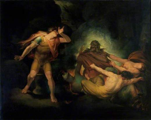 'The Fire King' by Henry Fuseli