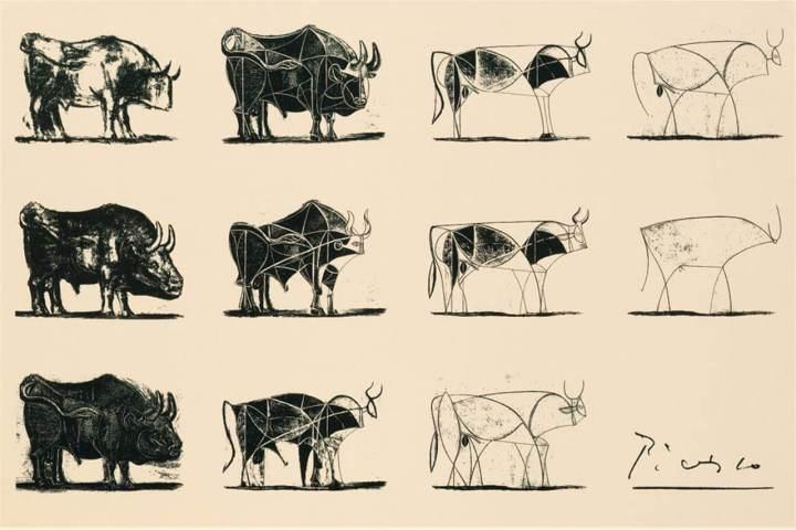 Picasso - Cykl z bykami
