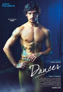 """Poster for the movie """"Dancer"""""""