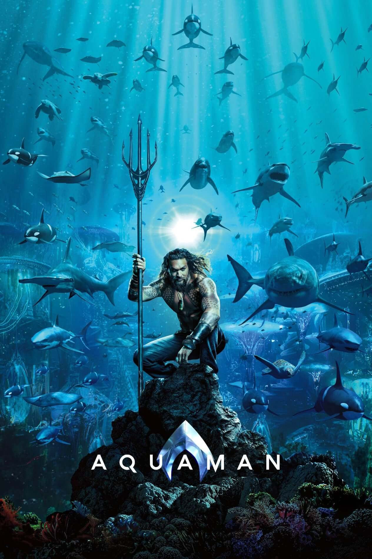 """Poster for the movie """"Aquaman"""""""