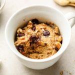 Healthy Banana Bread Mug Cake Vegan Gluten Free Okonomi Kitchen