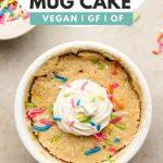 Funfetti Mug Cake Vegan Gluten Free Okonomi Kitchen