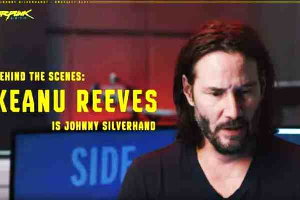 Making-of Cyberpunk 2077 avec Keanu Reeves