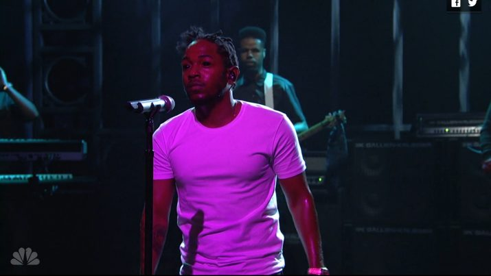 Watch Kendrick Lamar's Electrifying Saturday Night Live Performances
