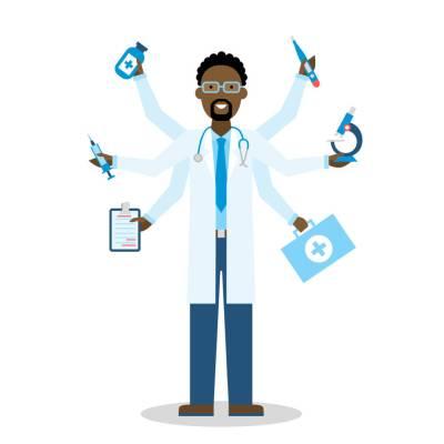Multitasking Medical Doctor
