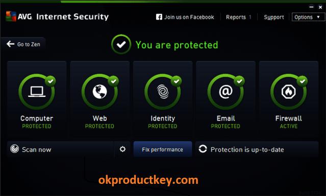AVG Internet Security 21.5.3185 Crack + License Key Free Download