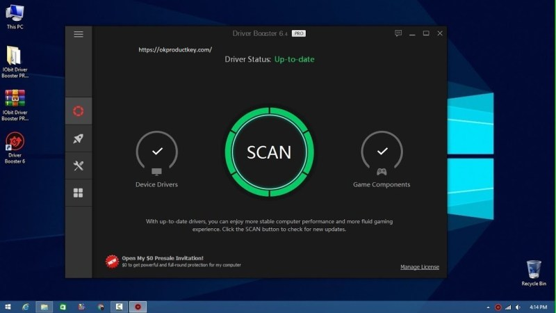 IObit Driver Booster Pro 8.2.0.305 Crack + Key Free Download 2021