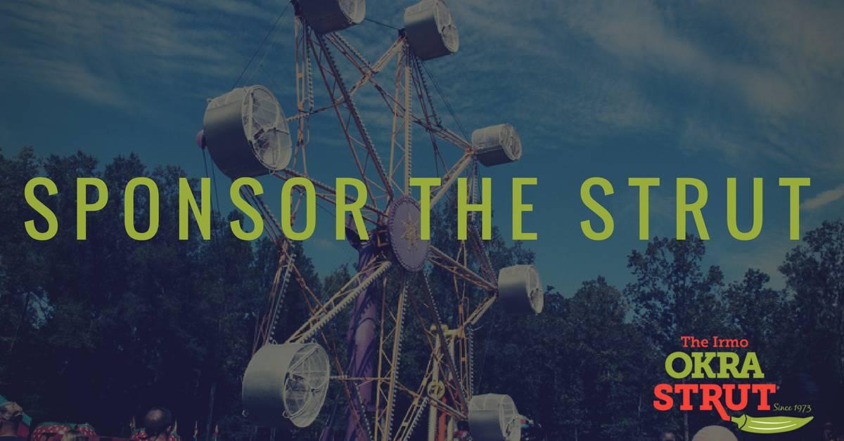 Sponsor The 2018 Okra Strut Festival