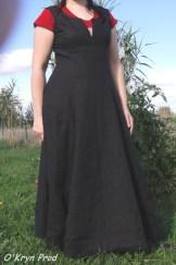 Robe style en lin