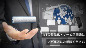 ノバルスIoTモジュール、コンサルティングなど事業概要
