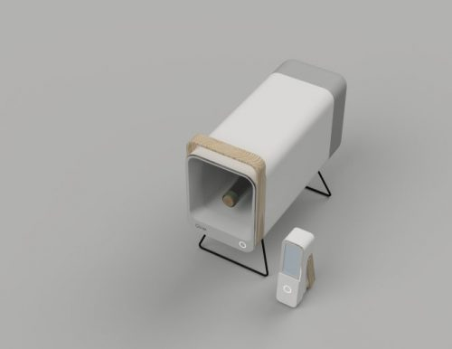 超小型自動販売機「Qvie」(引用:CEREVO公式サイト)