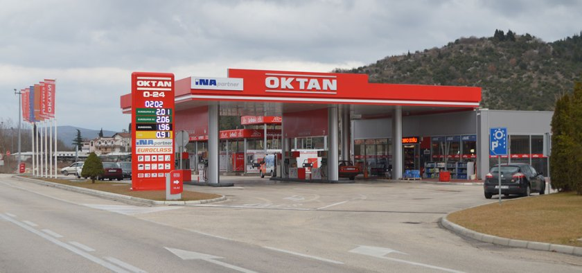 OKTAN Benzinska pumpa Doljani