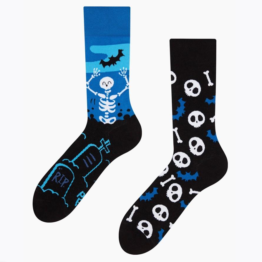 Begraafplaats Halloween sokken