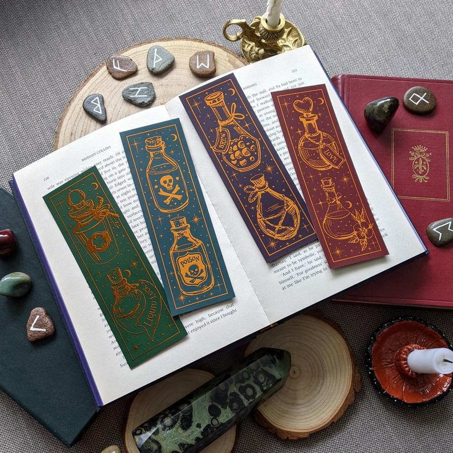 Boekenleggers Juli: Potions brons