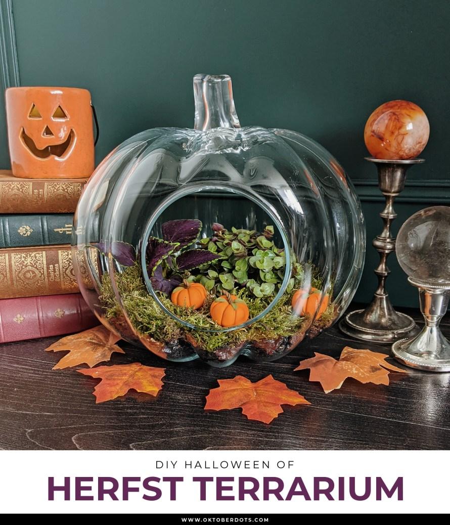 Oktoberdots herfst terrarium