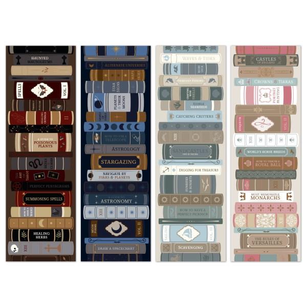 oktoberdots bookmarks bookstacks core & academia 2