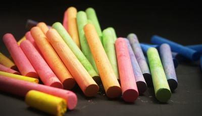 come fare i gessetti colorati