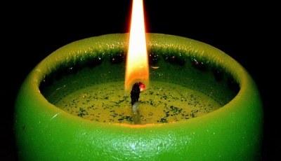 significato delle candele verdi